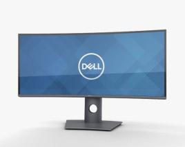 Dell 34-inch Curved Monitor U3419W 3D model