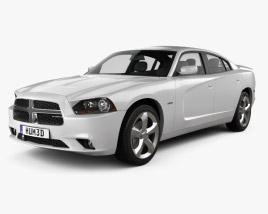 Dodge Charger (LX) 2011 3D model