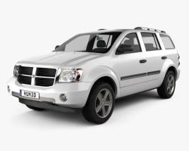 Dodge Durango 2008 3D model