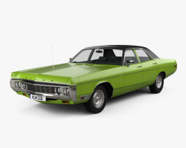 Dodge Polara Hardtop Coupe 1970 3D model