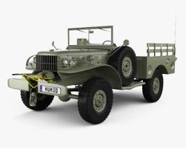Dodge WC-52 (T214) 1942 3D model