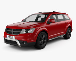 Dodge Journey Crossroad 2014 3D model