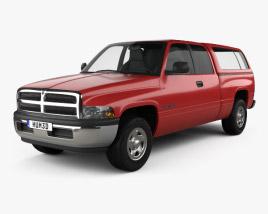 Dodge Ram 1500 Club Cab ST 1999 3D model