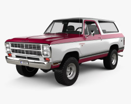 Dodge Ramcharger 1979 3D model