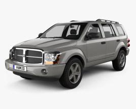 Dodge Durango SLT 2004 3D model