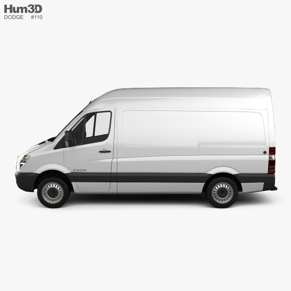 Dodge Sprinter 2500 Panel Van L1H2 2006 3D model