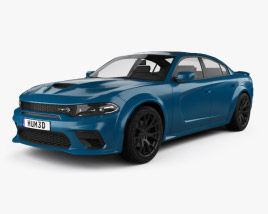 Dodge Charger SRT Hellcat Wide body 2020 3D model