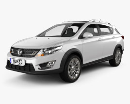 Dongfeng AX3 2016 3D model