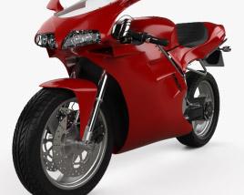 Ducati 748 Sport Bike 2004 3D model