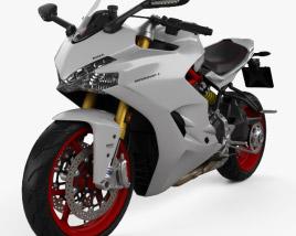 Ducati Supersport S 2017 3D model