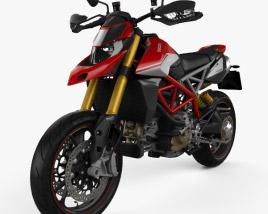 Ducati Hypermotard 950SP 2019 3D model