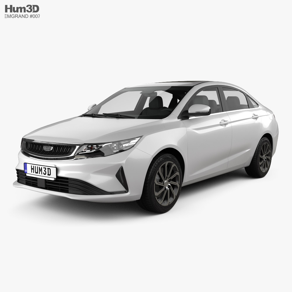 Emgrand GL 2020 3d model