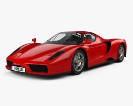 Ferrari Enzo 2002 3D model