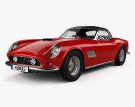 Ferrari 250 GT California Spider 1958 3D model