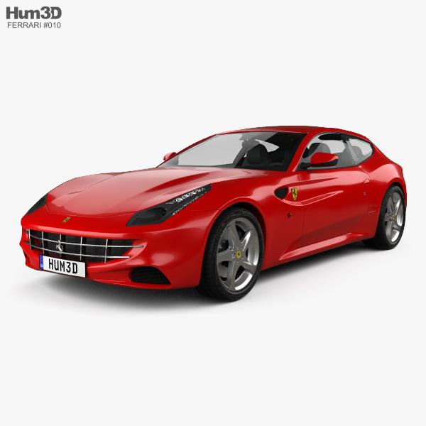 Ferrari FF 3D Models Download