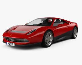 Ferrari SP12 EC 2012 3D model