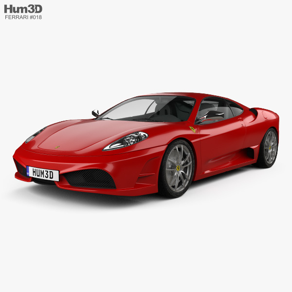 Cenário 3d Ferrari F430 Modelo 3d