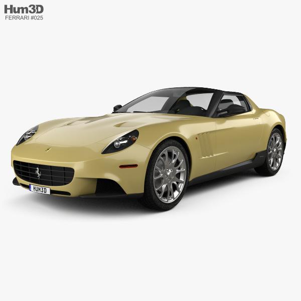 Ferrari P540 Superfast Aperta 2010 3D Model