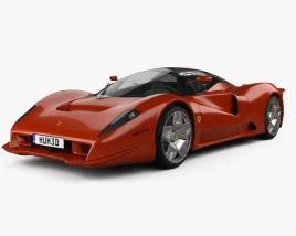 Ferrari P4/5 Pininfarina 2006 3D model