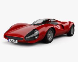 Ferrari Thomassima II 1967 3D model