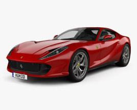 Ferrari 812 Superfast 2017 3D model