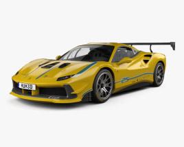 Ferrari 488 GTB Challenge 2017 3D model