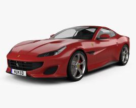 Ferrari Portofino 2018 3D model