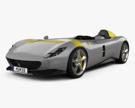 Ferrari Monza SP1 2018 3D model