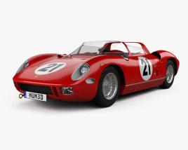 Ferrari 250 P 1963 3D model