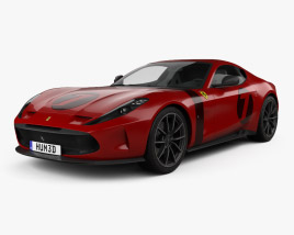 Ferrari Omologata 2020 3D model