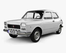 Fiat 127 1975 3D model