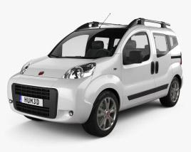Fiat Fiorino Qubo 2011 3D model
