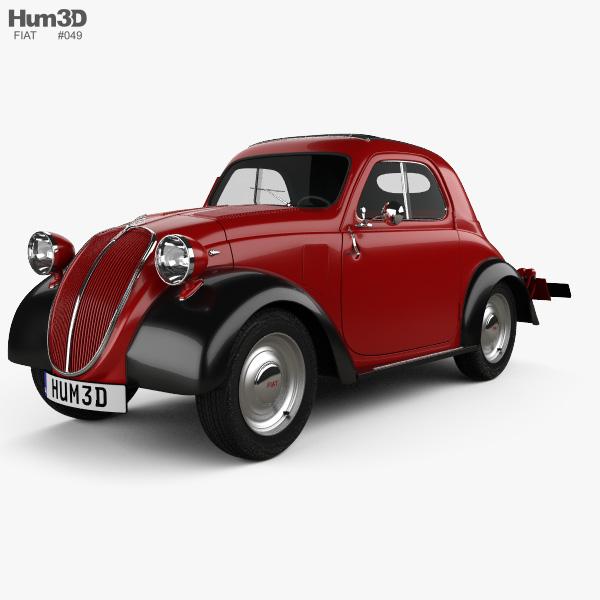 Fiat 500 Topolino 1936 3d Model Vehicles On Hum3d