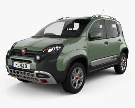 Fiat Panda Cross 2014 3D model