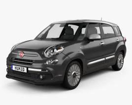 Fiat 500L Wagon 2017 3D model