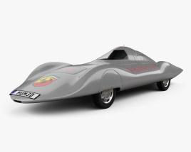 Fiat Abarth 1000 Monoposto Record 1960 3D model