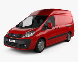 Fiat Scudo Cargo L2H2 2011 3D model