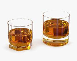 Whiskey Glasses 3D model