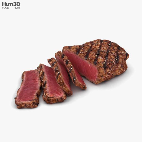 Medium Rare Steak 3D model - Food on Hum3D