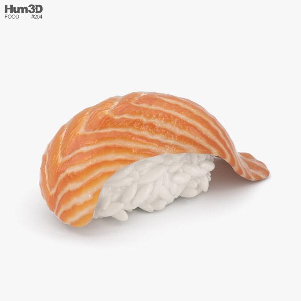 Shake Nigiri 3D model - Food on Hum3D