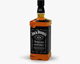 Jack Daniel's Whiskey Bottle 3D model