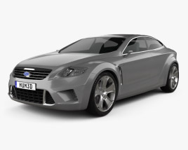 Ford Iosis concept 2005 3D model