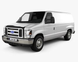 Ford E-series Van 2011 3D model