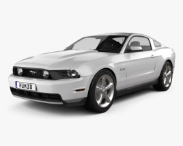 Ford Mustang GT 2012 3D model