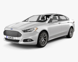 Ford Fusion (Mondeo) 2013 3D model