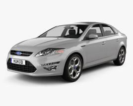 Ford Mondeo sedan Mk4 2011 3D model