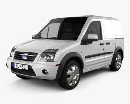 Ford Transit Connect SWB 2012 3D model
