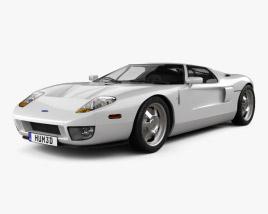 Ford GT 2006 3D model
