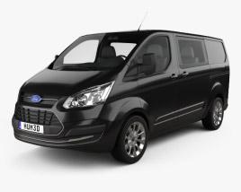Ford Transit Custom Crew Van SWB 2013 3D model