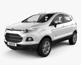 Ford Ecosport Titanium 2013 3D model
